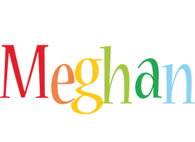 Meghan birthday logo
