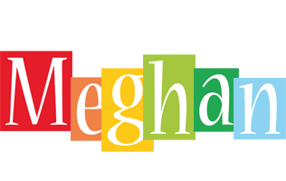 Meghan colors logo