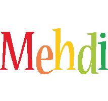 Mehdi birthday logo