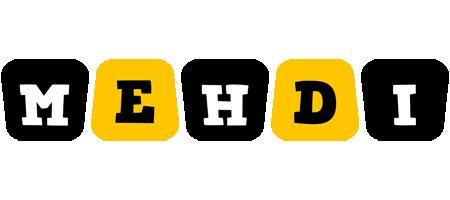 Mehdi boots logo
