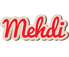 Mehdi chocolate logo