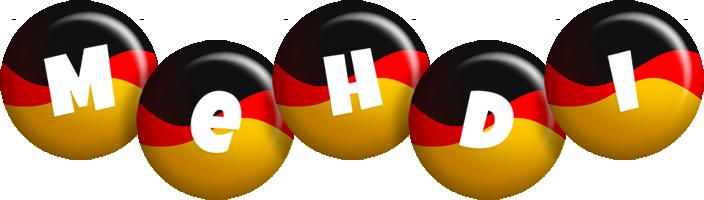 Mehdi german logo
