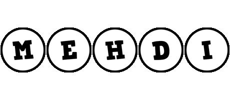 Mehdi handy logo