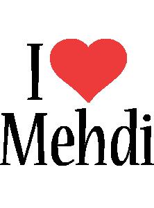 Mehdi i-love logo