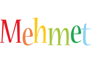 Mehmet birthday logo