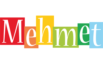 Mehmet colors logo