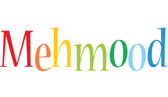 Mehmood birthday logo