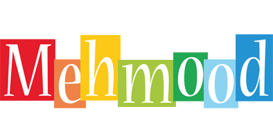 Mehmood colors logo