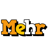Mehr cartoon logo