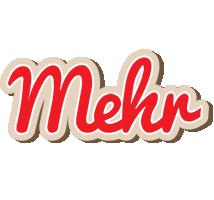 Mehr chocolate logo
