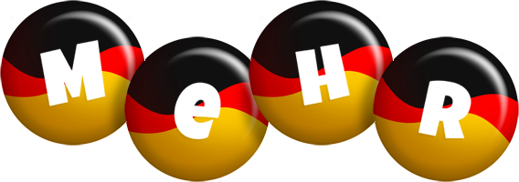 Mehr german logo