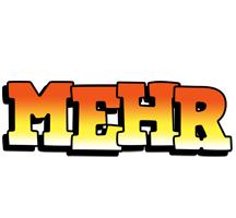 Mehr sunset logo