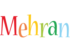 Mehran birthday logo
