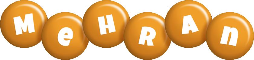 Mehran candy-orange logo