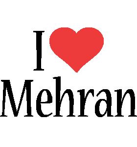 Mehran i-love logo