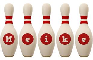 Meike bowling-pin logo