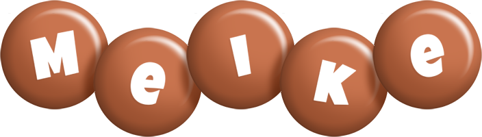 Meike candy-brown logo
