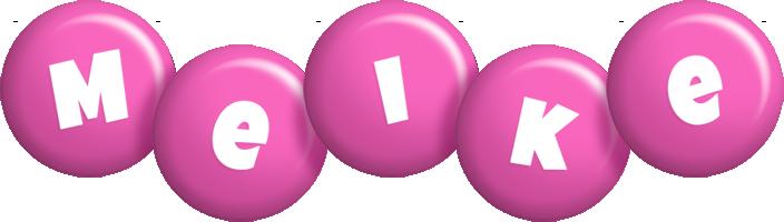 Meike candy-pink logo