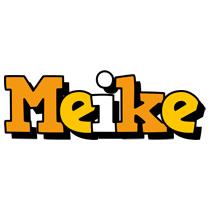 Meike cartoon logo