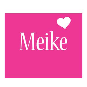 Meike love-heart logo