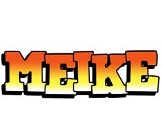 Meike sunset logo