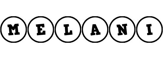 Melani handy logo