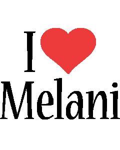 Melani i-love logo