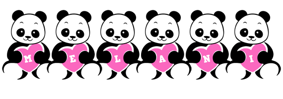 Melani love-panda logo