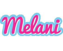 Melani popstar logo