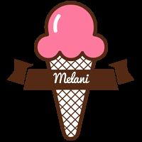 Melani premium logo