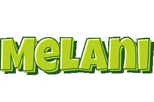 Melani summer logo