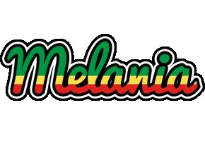 Melania african logo