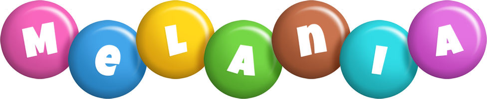 Melania candy logo