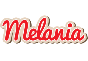 Melania chocolate logo