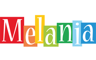 Melania colors logo