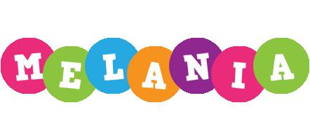 Melania friends logo