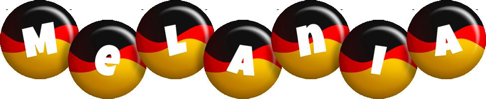 Melania german logo