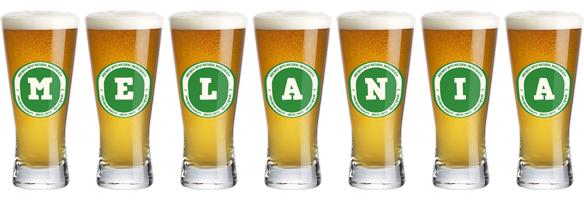 Melania lager logo