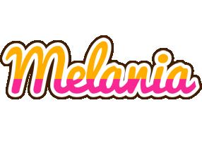 Melania smoothie logo