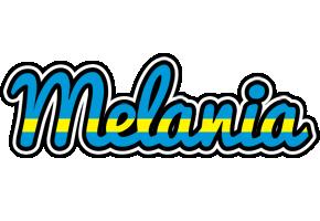 Melania sweden logo