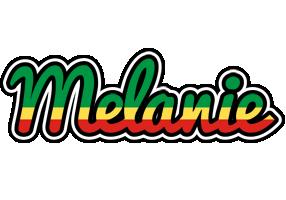 Melanie african logo