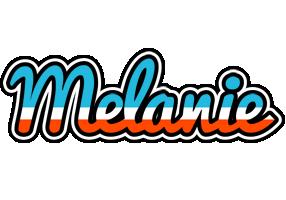 Melanie america logo