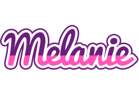 Melanie cheerful logo