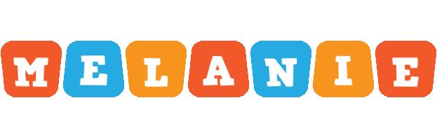 Melanie comics logo