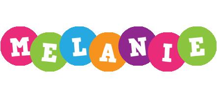 Melanie friends logo