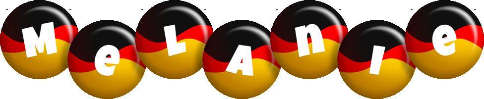 Melanie german logo