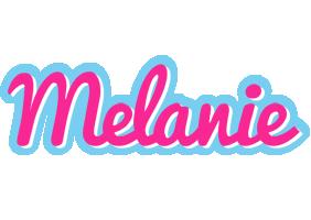 Melanie popstar logo