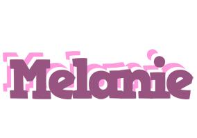 Melanie relaxing logo