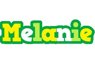 Melanie soccer logo