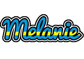 Melanie sweden logo